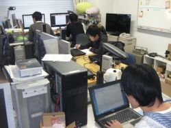 2011年度 研究室の風景