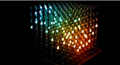3D LED Cubeが完成