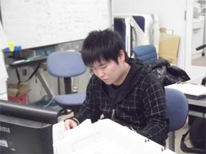 試験勉強の様子2
